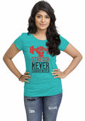 Stretch Women Tshirt - Wear Your Opinion - WYO.in  - 2