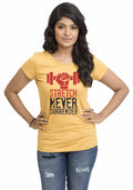 Stretch Women Tshirt - Wear Your Opinion - WYO.in  - 3