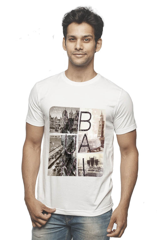 Old Mumbai T-Shirt - Wear Your Opinion - WYO.in  - 2