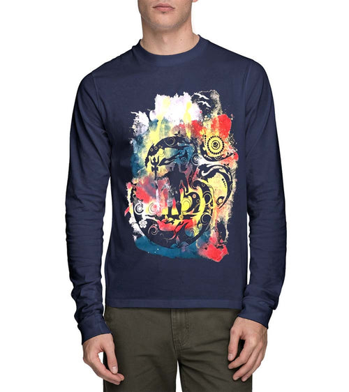 Om Namah Shivay Full Sleeve T-Shirt - Wear Your Opinion - WYO.in  - 1