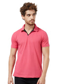 Basic PQ Polo T-Shirt - Onion Pink