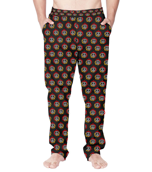 Peace Is A State Of Mind Men Pyjamas - Wear Your Opinion - WYO.in  - 1