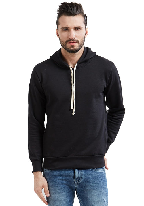 Plain Hoodies - Black