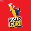 Poster Girl Women Tshirt
