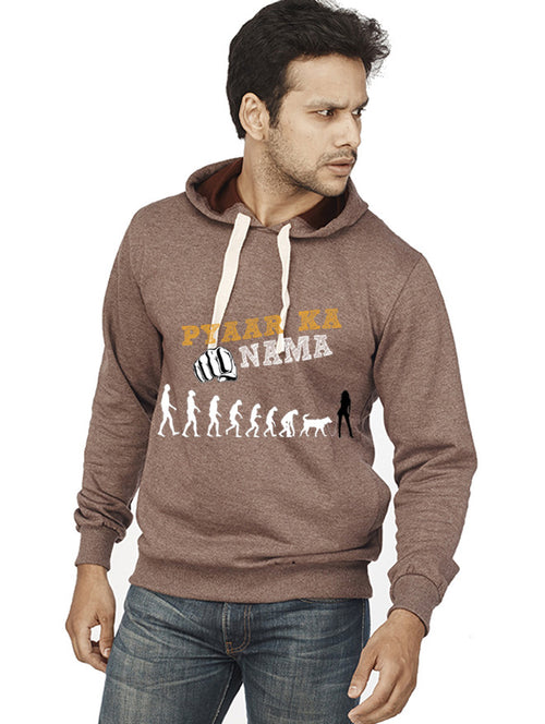 Pyaar Ka Punchnama Front Print Sweatshirt - Wear Your Opinion - WYO.in  - 1