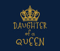 Queen Princess - Mom And Daughter Tees