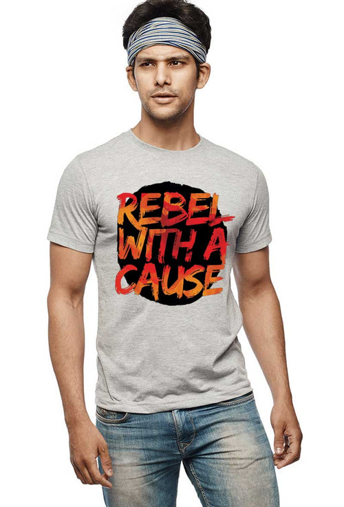 Rebel With A Cause T-Shirt - Wear Your Opinion - WYO.in  - 2
