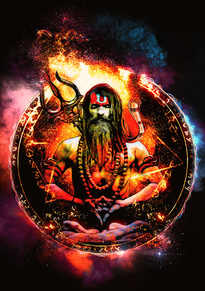 Samsara Aghori Poster - Wear Your Opinion - WYO.in