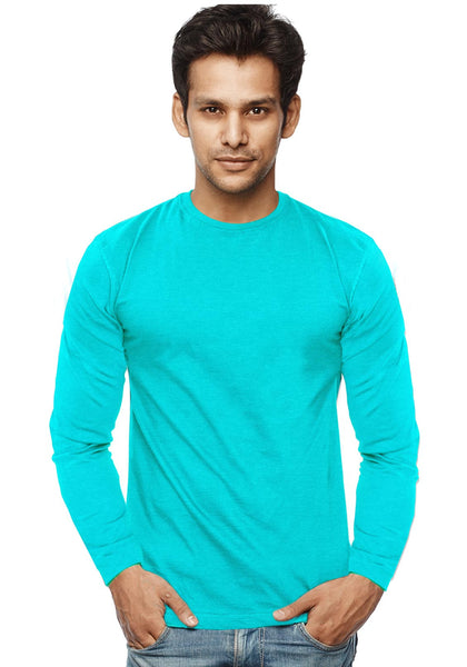 Plain Full Sleeves Tshirt - Scuba Mel - Wear Your Opinion - WYO.in
