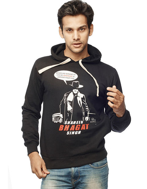 Shaheed Bhagat Singh Sweatshirt - Wear Your Opinion - WYO.in  - 1