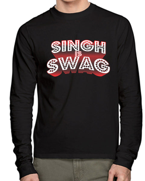 Singh Full Sleeves T-Shirt - Wear Your Opinion - WYO.in  - 1