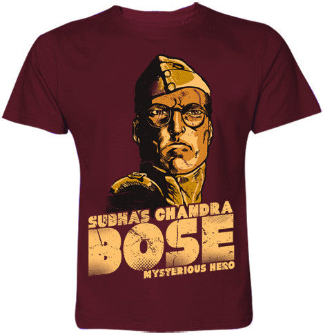 Mysterious Hero Subhas Chandra Bose T-Shirt - Wear Your Opinion - WYO.in  - 2