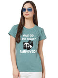 I Survived Women Tshirt