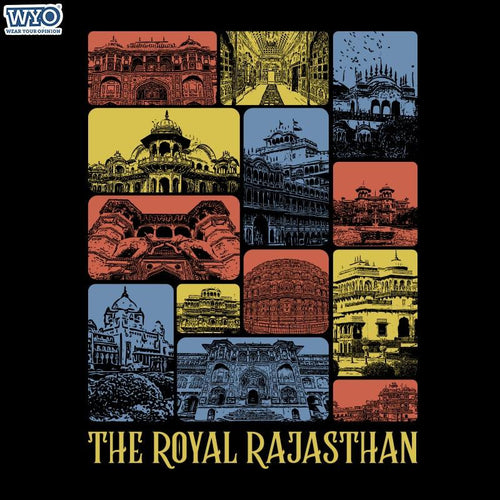 Royal Rajasthan Women T-Shirt