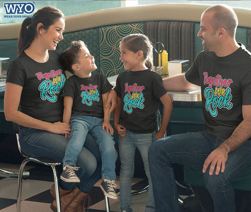 Together We Rock - Family Tees