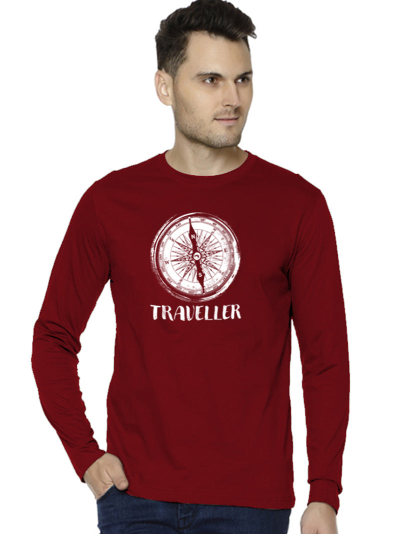 Travel Compass - Full Sleeves
