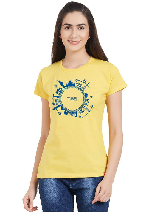 Travel Globe Women T-Shirt