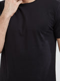 Plain Men's Tshirt - Black
