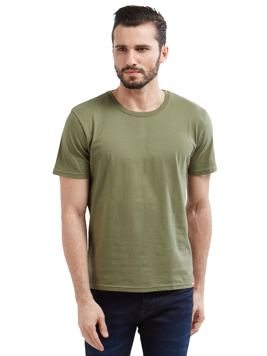 Solid Mens Army T Shirts  62979c8be12c