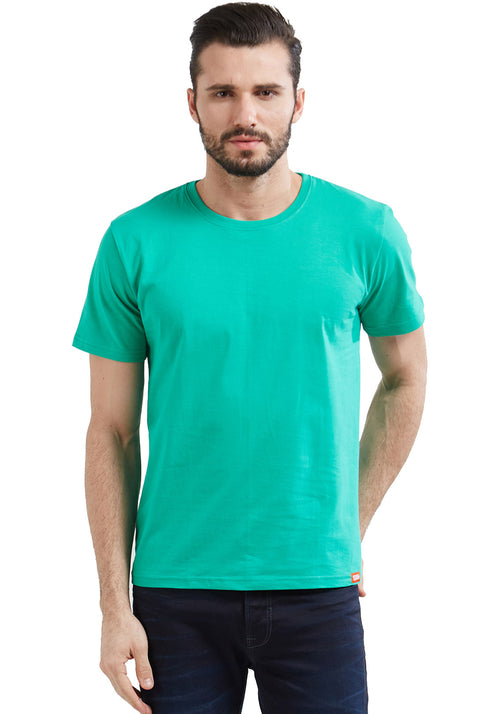 Plain Men's Tshirt - Sea Green