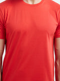 Plain Men's Tshirt - Red