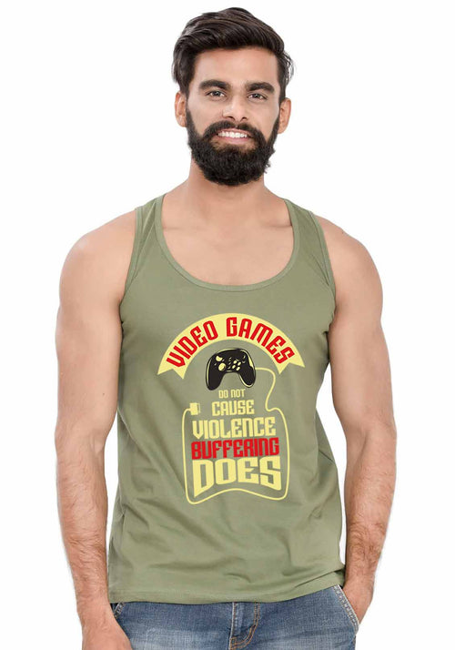 Video Games Sleeveless T-Shirt