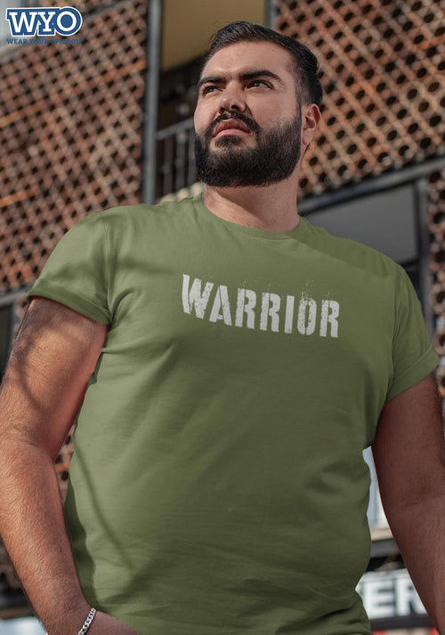 Army Warrior Plus Size T-Shirt