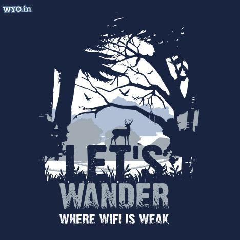 Let's Wander Women T-Shirt