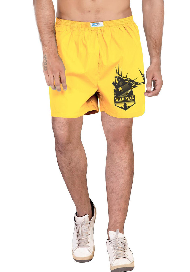 Wild Stag (Boxer) - Wear Your Opinion - WYO.in  - 1