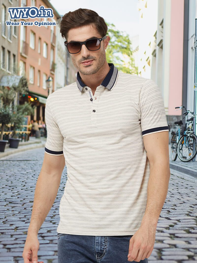 Basic Thin Stripes Polo