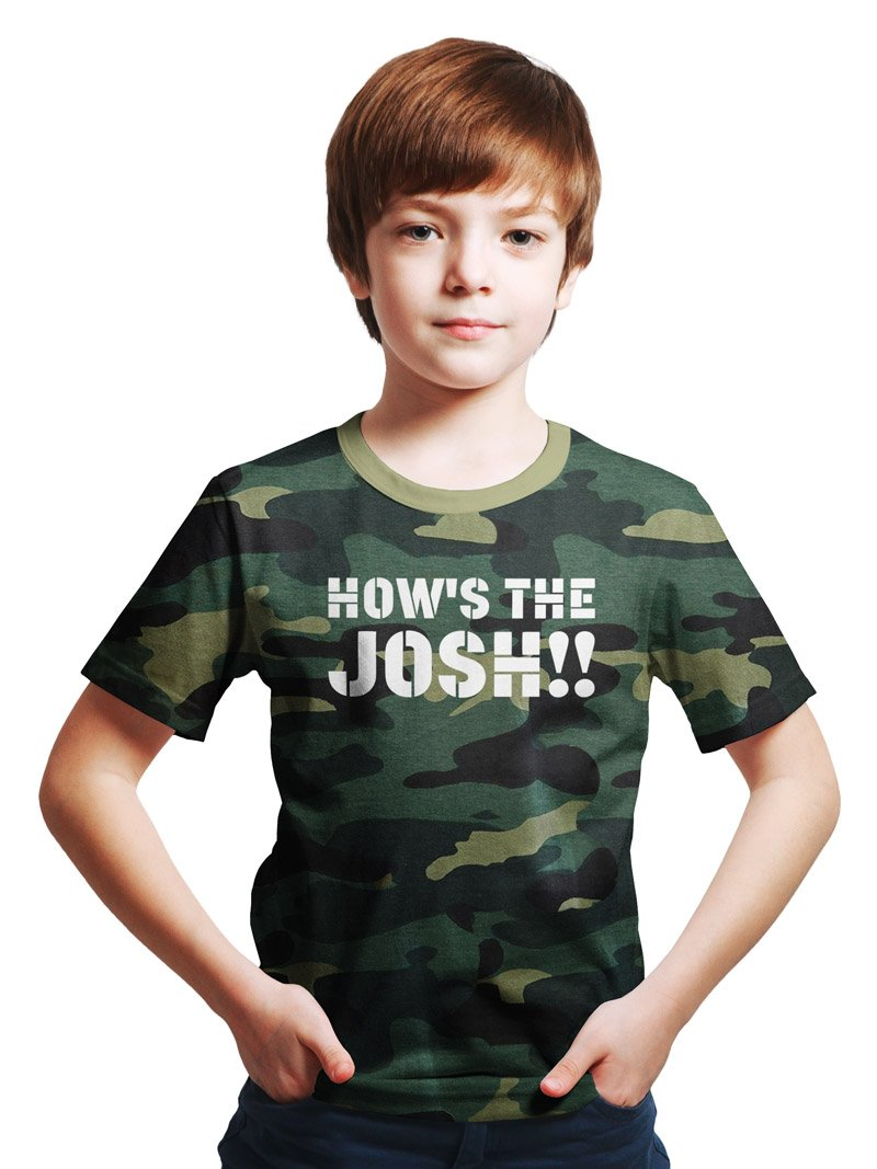 How's The Josh Kids T-Shirt