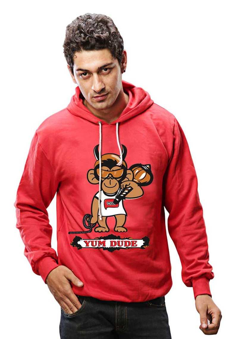 Yum Dude Sweatshirt - Wear Your Opinion - WYO.in
