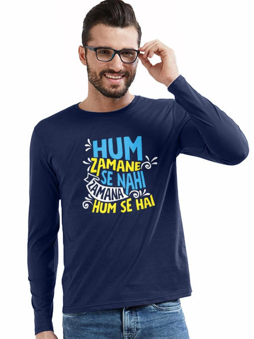 Zamana Humse Hai - Full Sleeves