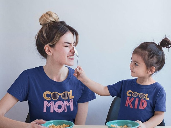 Mother And Daughter T-Shirts