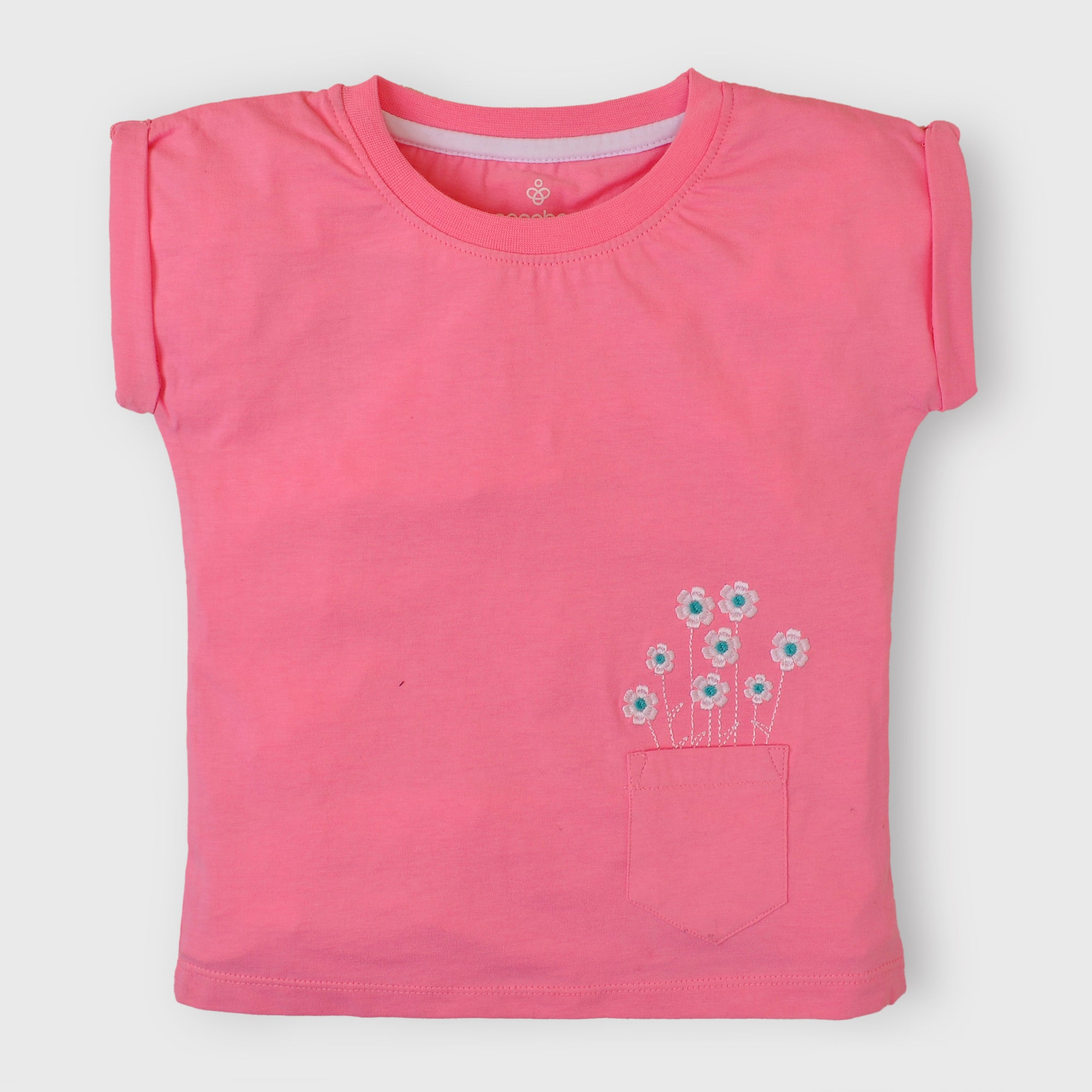 Pink Pocket T-Shirt