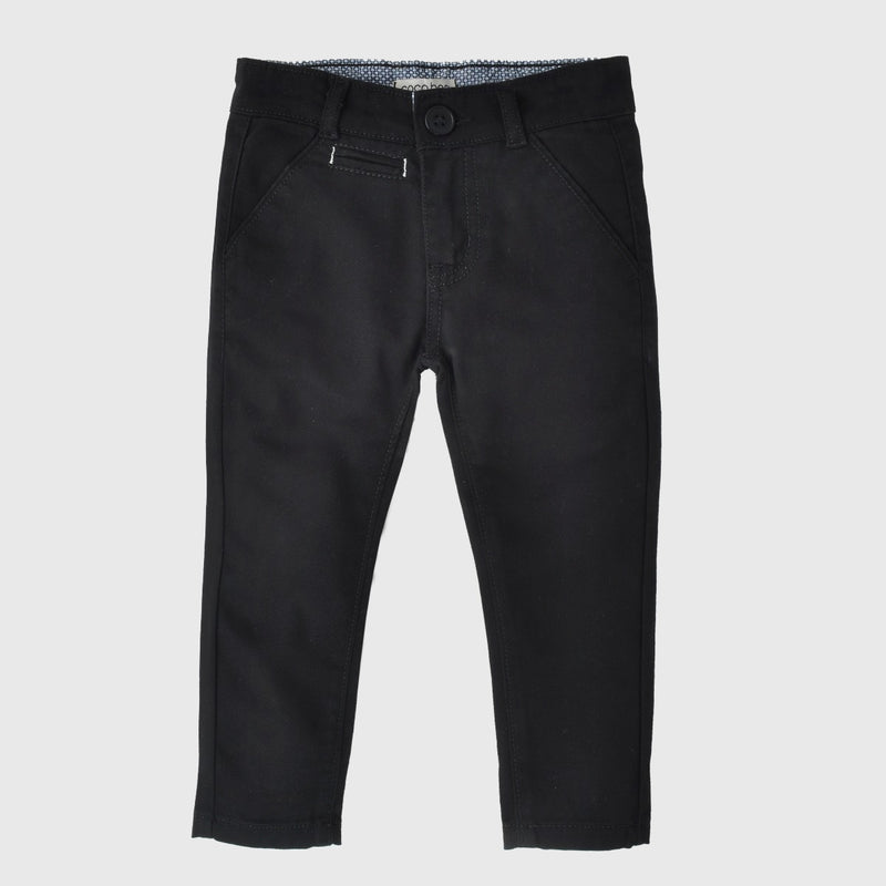 Coal Black Pants