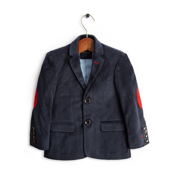 Navy Corduroy Coat