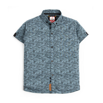 Leaves Printed Shirt