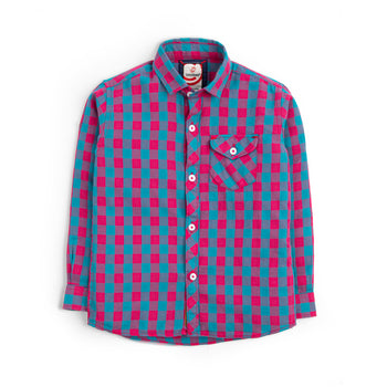 Pink Checkered Shirt