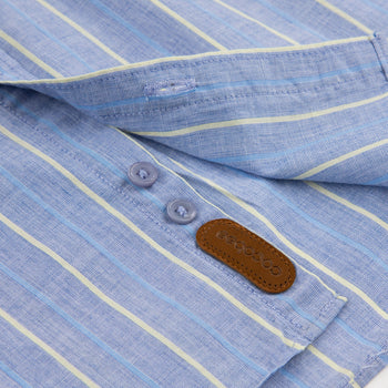 Thin Blue Striped Shirt