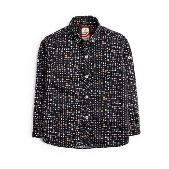 Black Printed Shirt