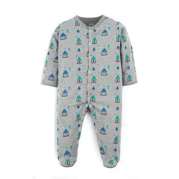 Grey House Sleepsuit