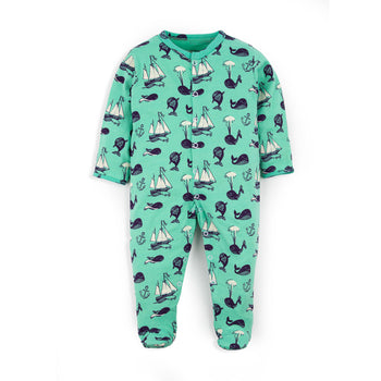 Blue Whale Sleepsuit