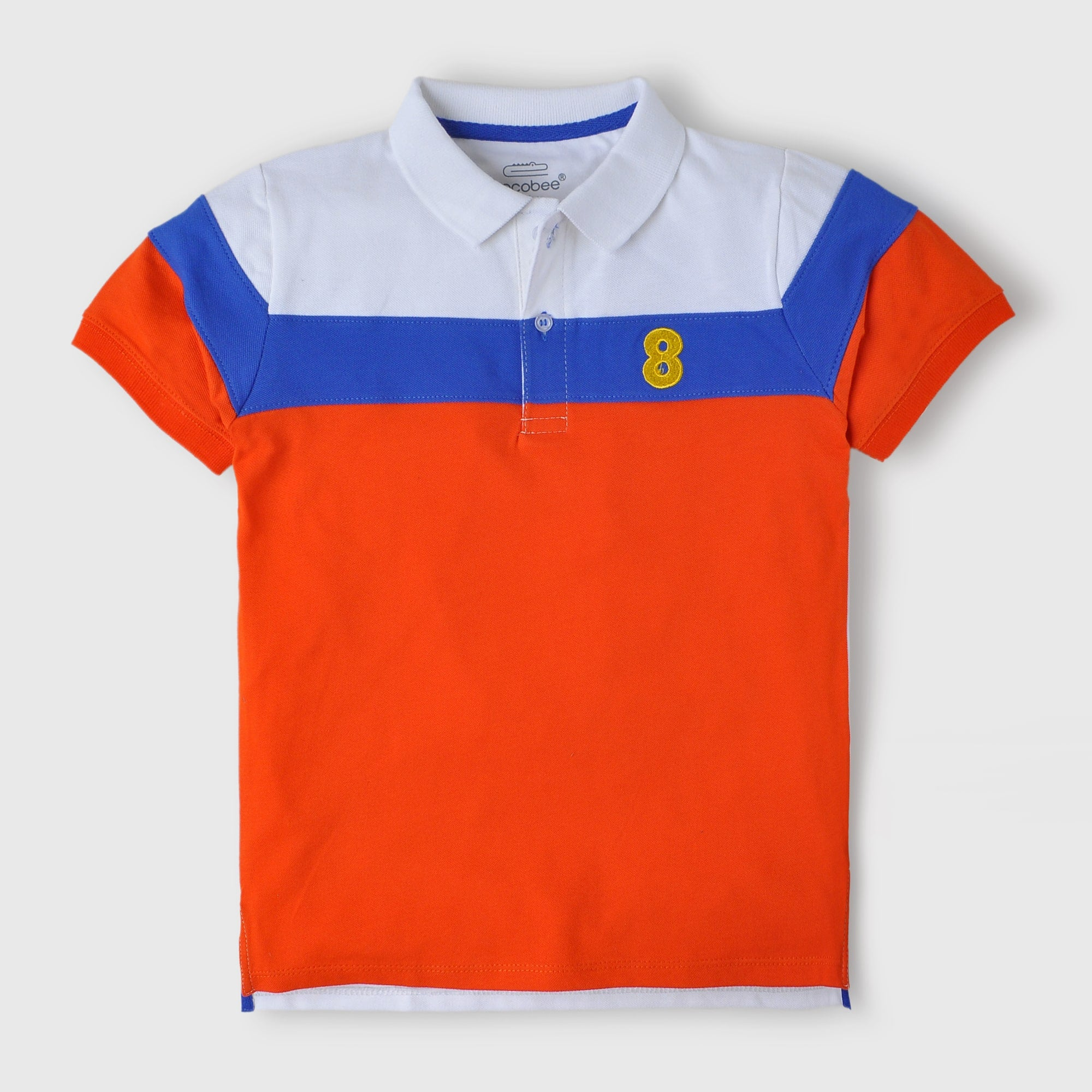 Tri-color Polo