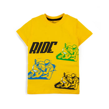 Yellow Ride T-Shirt