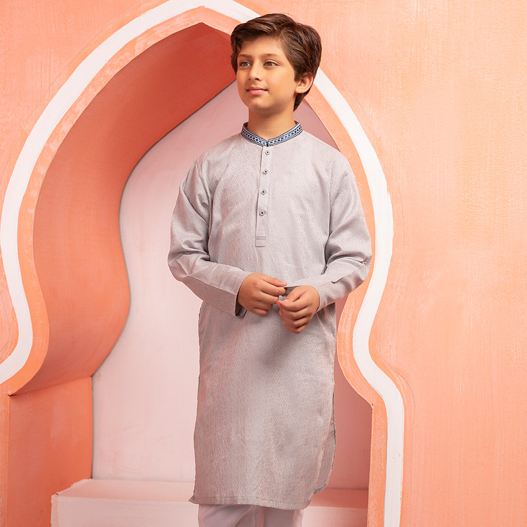 Magnetic Grey Kurta