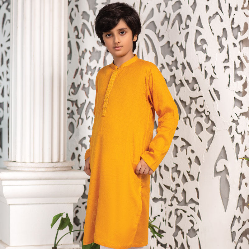 Butterscotch Kurta