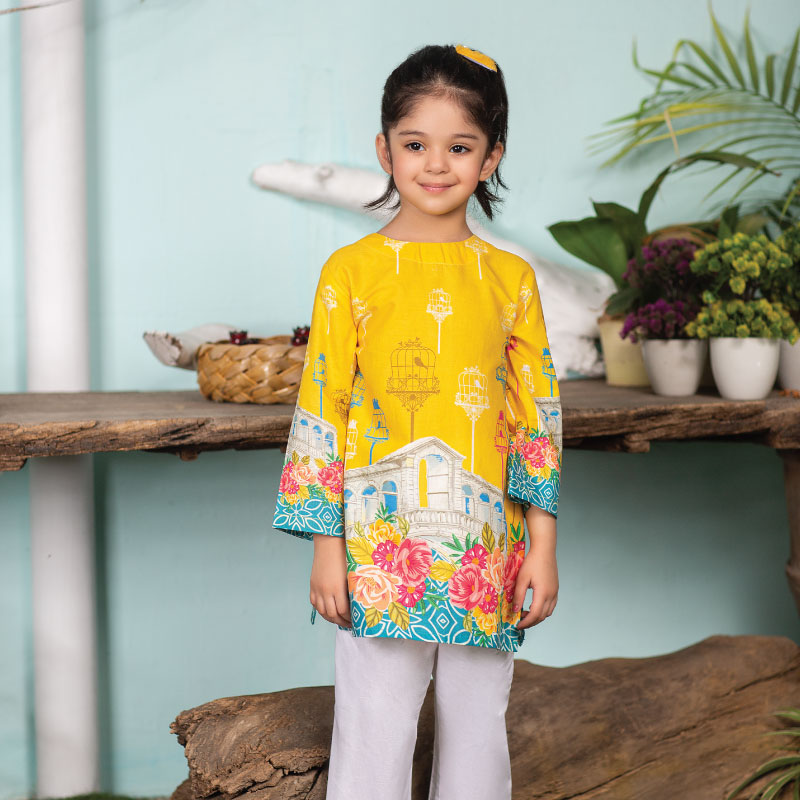 Charming Yellow Kurti