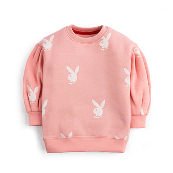 Rabbit Printed Sweatshirt