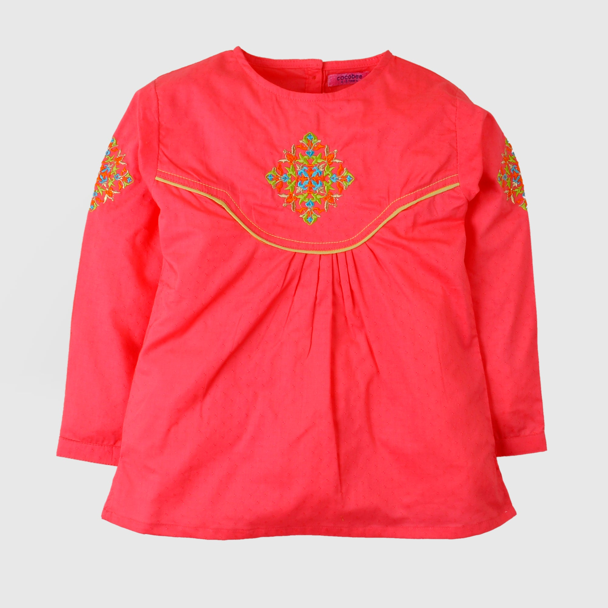 Ethnic Embroidered Top